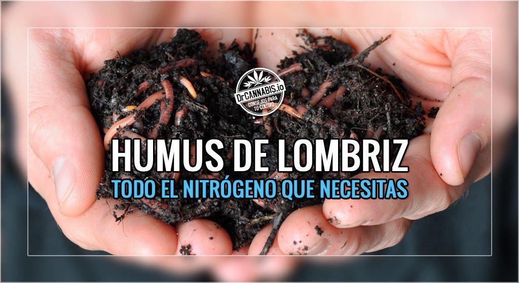 Humus de Lombriz para Aportar Nitrógeno