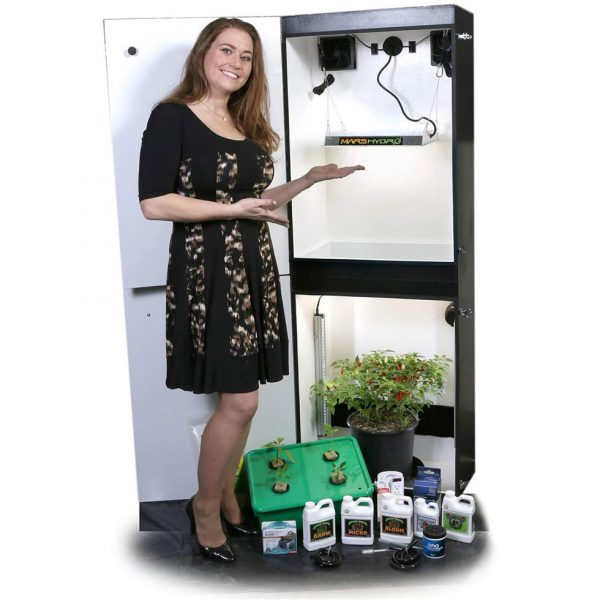 Growzilla Vertical Grow Cabinet