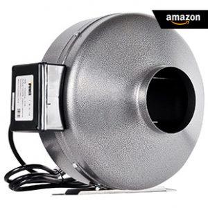 iPower-6-Inch 442 CFM Inline Duct Ventilation-Fan-HVAC-Exhaust-Blower