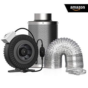 VIVOHOME 6 inch 440 CFM and Carbon Filter